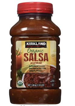 Kirkland Organic Medium Salsa - 1L /2lbs, {Imported from Canada}