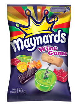 Maynards Wine Gums Candy, 170g/6oz., {Imported from Canada}