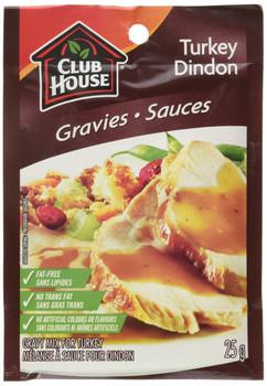Club House Turkey Gravy Mix, 25g/1oz., {Imported from Canada}