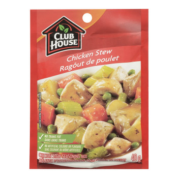 Club House Chicken Stew Seasoning Mix, 40g/1.4oz., {Imported from Canada}