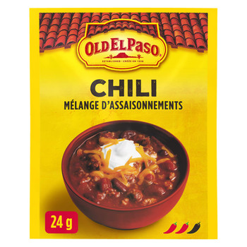 Old El Paso, Chili Seasoning Mix, 24g/0.8oz., {Imported from Canada}