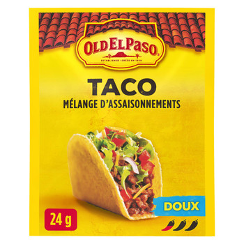 Old El Paso, Taco Seasoning Mix Mild , 24g/0.8oz., {Imported from Canada}