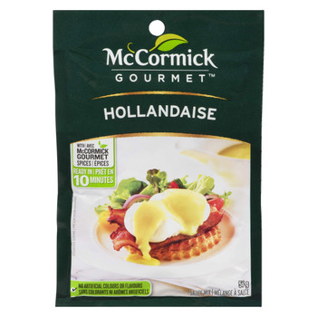 McCormick Hollandaise Sauce, 56g /1.9oz., (Imported from Canada)