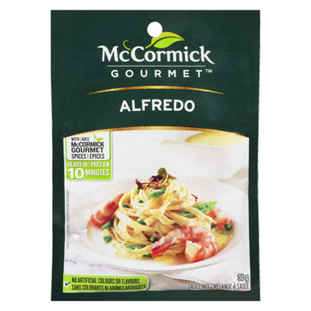 McCormick International Alfredo Sauce Mix, 30g/1.1oz., {Imported from Canada}