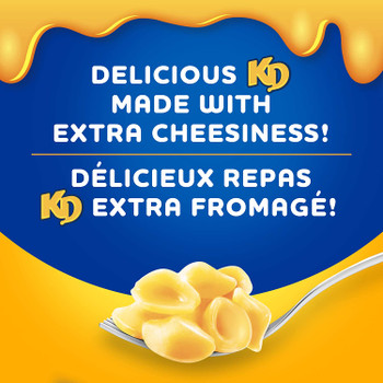 Kraft Dinner, Three Cheese Macaroni & Cheese, 200g/7oz, {Imported from Canada}