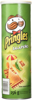 Pringles Jalapeno Chips, 156g/5.5oz., {Imported from Canada}