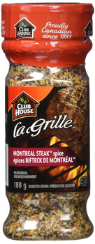 Club House La Grille Montreal Steak Spice, 188g/6.6oz., {Imported from Canada}