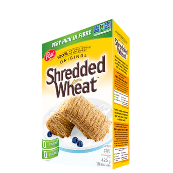 Post Shredded Wheat, Big Biscuit, 425g/15oz., {Imported from Canada}