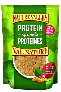 Nature Valley, Protein Granola, Cranberry Almond Cereal, 310g/11oz., {Imported from Canada}