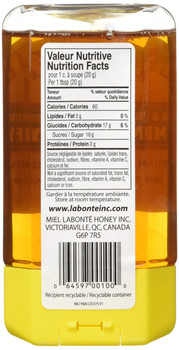 Labonte Pure and Natural Liquid Honey, 375g/13.2oz., {Imported from Canada}
