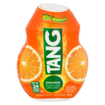 Tang Orange Liquid Drink Mix, 48mL/1.62oz., {Imported from Canada}