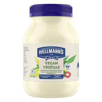 Hellmann's Vegan Dressing & Sandwich Spread, 710ml/24oz., {Imported from Canada}