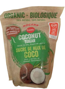 Rogers & Lantic, Organic, Coconut Sugar, 450g/15.9oz., {Imported from Canada}