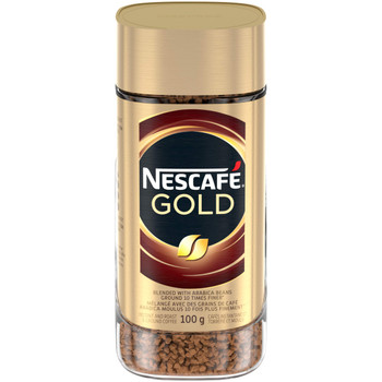 NESCAFE Gold Instant & Roast & Ground Coffee, 100g/3.5oz., Jar, {Imported from Canada}