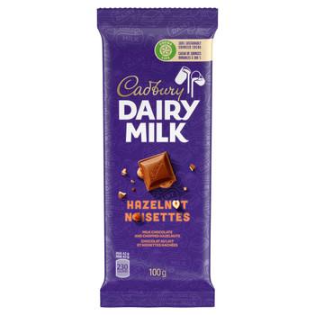 Cadbury Dairy Milk Hazelnut Chocolate, 100g {Imported from Canada}