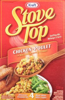 Kraft, Stove Top, Chicken Stuffing Mix, 120g/4.2oz., {Imported from Canada}