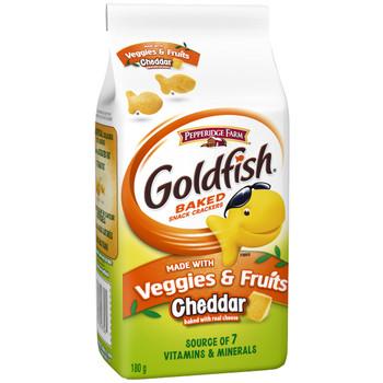Pepperidge Farm Goldfish, Veggies & Fruits Crackers, 180g/6.1oz., {Imported from Canada}