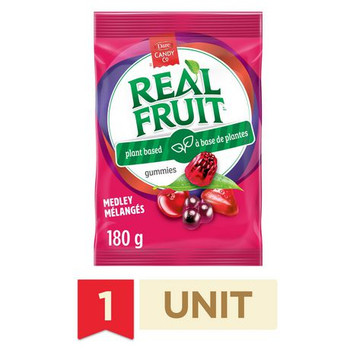 Dare Real Fruit Gummies, Fruit Medley, 180g/6.3oz., {Imported from Canada}