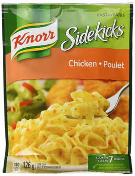 Knorr Sidekicks, Chicken Pasta Side Dish, 126g/4.4oz., 8ct, {Imported from Canada}