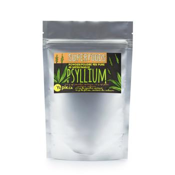 Yupik Organic Psyllium Husk Powder 95%  40 Mesh, 250g  {Canadian}