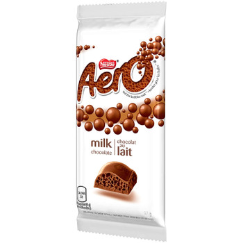 Nestle AERO, Milk Chocolate, 97g/3.4oz., Bar, {Imported from Canada}