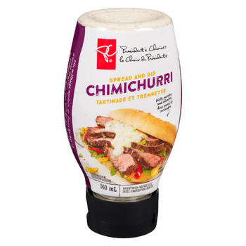 President's Choice, Chimichurri Spread and Dip, 300ml/10.1oz., {Imported from Canada}