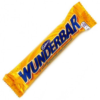 Cadbury Wunderbar, 58g/2 oz., Chocolate Bar {Imported from Canada}