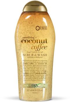 OGX Coconut Coffee Body Scrub, 577 ml/19.5 fl oz, {Imported from Canada}