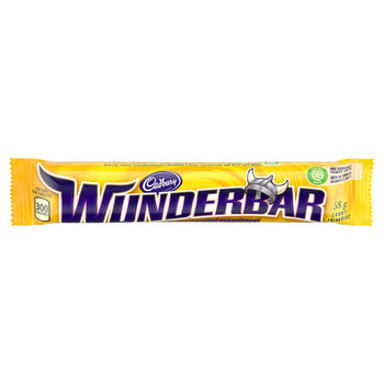 Cadbury Wunderbar Chocolate, 58g/2 oz., {Imported from Canada}