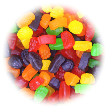 Canada Candy, Huge Bag of Sour Ju Jubes Gummies, 2.5kg/5.5lbs, {Imported from Canada}