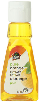 Club House, Baking & Flavouring Extracts, Pure Orange, 43ml/1.5oz., {Imported from Canada}