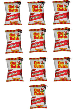 Old Dutch Ketchup Chips (10ct x 40g/1.4oz.) Bundle {Imported from Canada}