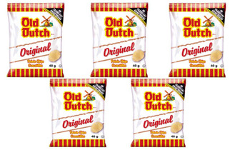 Old Dutch Potato Chips (5 Bags x 40g/ 1.4oz) Bundle {Imported from Canada}