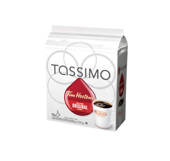 Tassimo Tim Horton's Coffee Single Serve T-Discs, 14 T-Discs, {Imported from Canada}
