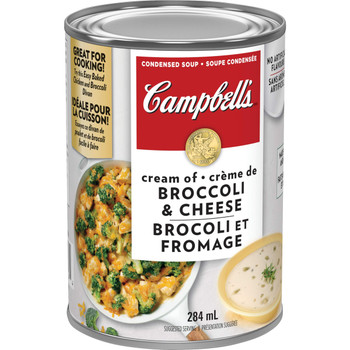 Campbell's Broccoli Cheese Soup, 284ml/9.6oz. (Imported from Canada)