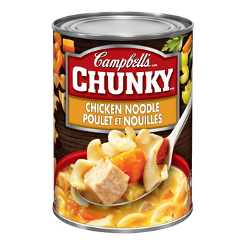 Campbell's Chunky Chicken Noodle Soup, 540ml/18.25oz, (Imported from Canada)