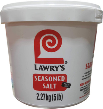 Lawry's Seasoned Salt, No MSG,  2.27 Kg/5lbs., {Imported from Canada}