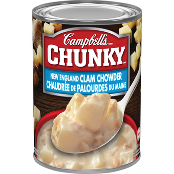Campbell's Chunky New England Clam Chowder, 540ml/18.3 oz., (Canadian)