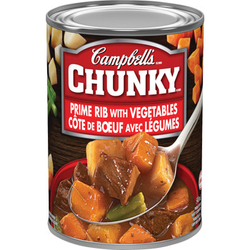 Campbell's Chunky Prime Rib Vegetable Soup, 540ml/18.3 oz {Imported from Canada)