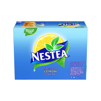 Nestea Lemon Soft Drinks, 341mL/11.5oz., cans, Pack of 12, {Imported from Canada}