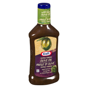 Kraft Aged Balsamic Vinaigrette with Extra Virgin Olive Oil, 475mL/16oz., {Imported from Canada}