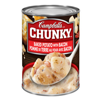 Campbell's Chunky Soup, Baked Potato with Bacon, 540ml 18.25oz {Canadian}