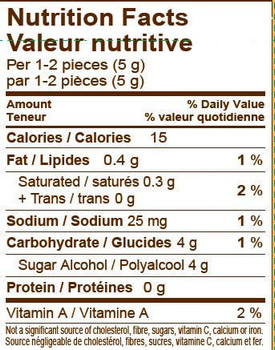 Werther's Original No Sugar Added Hard Candies, 70g/2.5oz, (Imported from Canada)