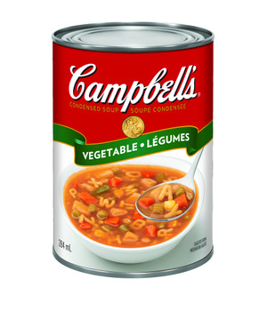 Campbell's Condensed Vegetable Soup, 284ml/9.6 oz. (Imported from Canada)