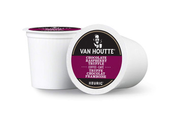 Van Houtte Chocolate Raspberry Truffle Single Serve Keurig, 12 Count {Imported from Canada}