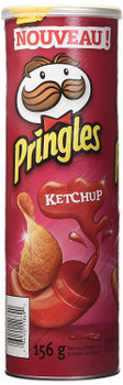 Pringles Potato Chips, Ketchup, 156g/5.5oz (14 Pack), {Imported from Canada}