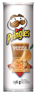 Pringles Potato Chips, Pizza Flavour, 156g/5.5oz (14 Pack){Imported from Canada}