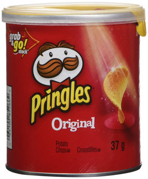 Pringles Original Potato Chips 37g/1.3oz., (Pack of 12) {Imported from Canada}
