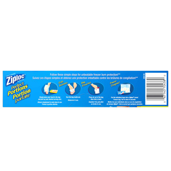 Ziploc Perfect Portions Freezer Bag, 75 Count, {Imported from Canada}