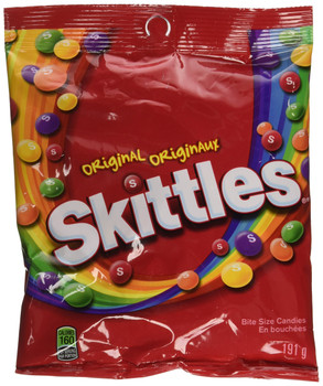 Skittles Original Candy (191g/6.7oz.) (Pack of 3), {Imported from Canada}